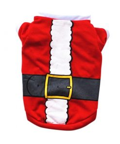 COOKIETESTER™: Adorable Christmas Costume for Dogs GlamorousDogs Santa XS