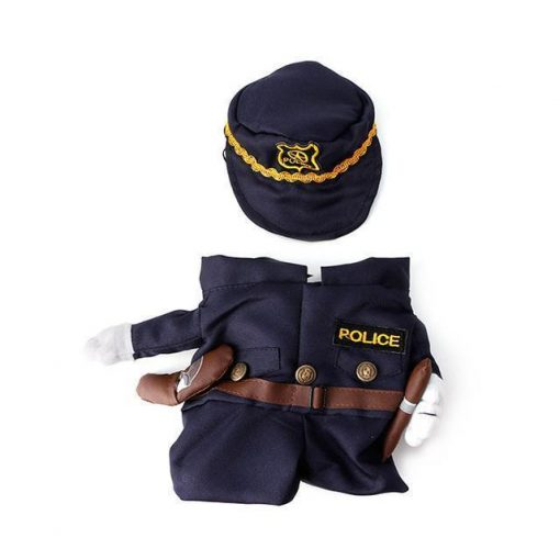 Cool Outfit for Small Pets Stunning Pets Policeman L