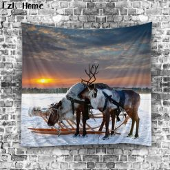 Cool Wolf 3D Tapestry Home accessories Stunning Pets type 5 150cm L 130cm W