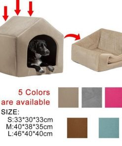 COZYBED™: 2 in 1 Cozy Bed & Sofa Luxury Pet House GlamorousDogs