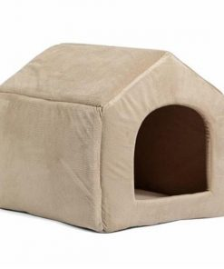 COZYBED™: 2 in 1 Cozy Bed & Sofa Luxury Pet House GlamorousDogs L Beige