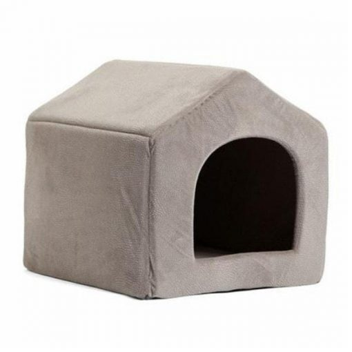 COZYBED™: 2 in 1 Cozy Bed & Sofa Luxury Pet House GlamorousDogs L Grey