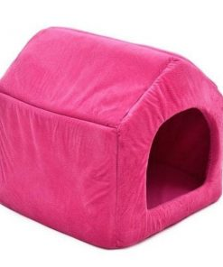 COZYBED™: 2 in 1 Cozy Bed & Sofa Luxury Pet House GlamorousDogs S Pink