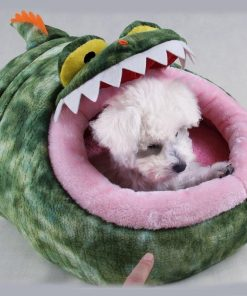 Crocodile-Shaped Pet Bed Glamorous Dogs Shop - Glamorous Accessories for Your Dog + FREE SHIPPING