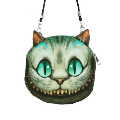 Cute 3D Cat Coin Bag | Free Shipping Stunning Pets MINI Greenish