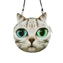 Cute 3D Cat Coin Bag   Free Shipping Stunning Pets MINI(MAX LENGTH