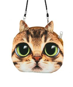 Cute 3D Cat Coin Bag | Free Shipping Stunning Pets MINI(MAX LENGTH<20CM) BLACK