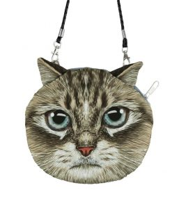 Cute 3D Cat Coin Bag | Free Shipping Stunning Pets MINI(MAX LENGTH<20CM) PINK