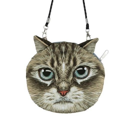 Cute 3D Cat Coin Bag | Free Shipping Stunning Pets MINI(MAX LENGTH