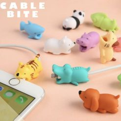 Cute Animal Cable Bites   Best Gifts for Animal Lovers Cable bites GlamorousDogs