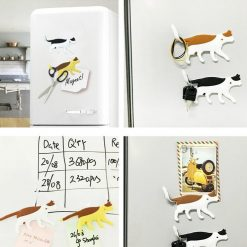Cute Decorative Cat Magnetic Hooks – 4 Pieces Set Home accessories Stunning Pets