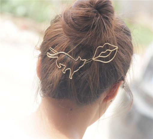 CUTE KITTY HAIR CLIPS Cat Lady Stunning Pets