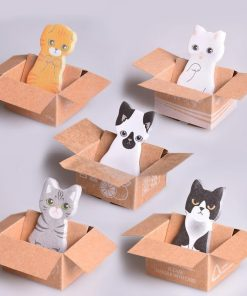 Cute Kitty Sticky Notes Stunning Pets