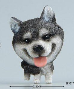 Cute Mini Husky Bulldog Fridge Magnet Stunning Pets 20