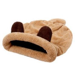 Cute Mouse Sleeping Bed for Cats Stunning Pets Khaki M China