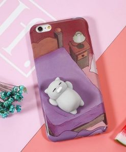 Cute Soft Silicone Squishy Stunning Pets Style 2 For iphone 6 6s