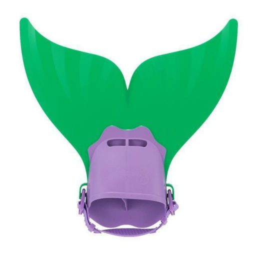 Cute Swimming Mermaid Fin for Kids Stunning Pets Green