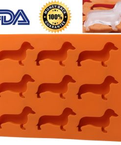 Dachshund Candy Silicon Tray Stunning Pets