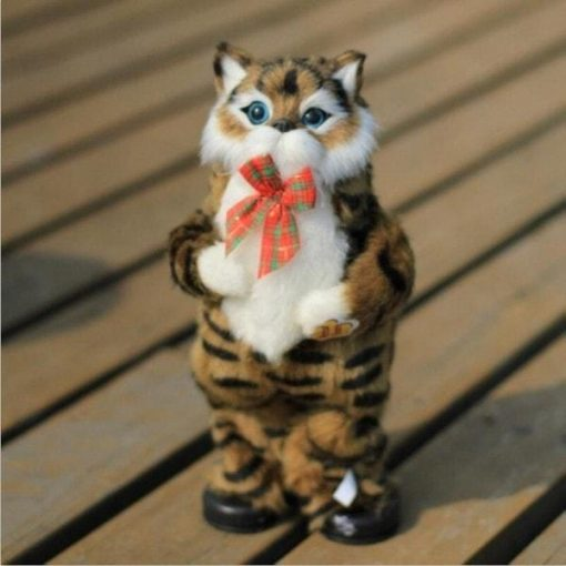 Dancing Cat Speaker: Most Interactive Kids/pets Toy Stunning Pets 30cm Brown