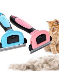 Dog Brush For Shedding With Detachable Clipper grooming Stunning Pets