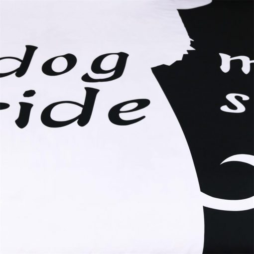 DOGGYSHEETS™: Your Dog's Place In Your Sheets Made Clear My Dog Side bedding sets GlamorousDogs