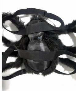 Dog With Spider Costume Scary Black Spider Halloween Halloween costume GlamorousDogs