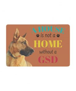 "Doormat 23.6"" x 15.7"" (Brown) Doormats interestprint"