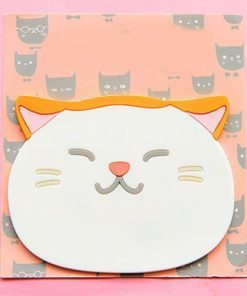 Emotional Cat Face Coasters – Pack of 6 Stunning Pets 2