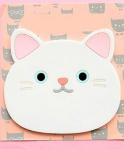 Emotional Cat Face Coasters – Pack of 6 Stunning Pets 3