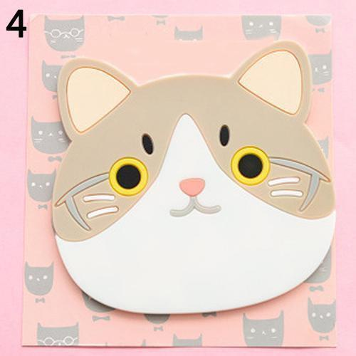 Emotional Cat Face Coasters – Pack of 6 Stunning Pets 4
