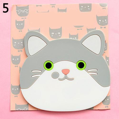 Emotional Cat Face Coasters – Pack of 6 Stunning Pets 5