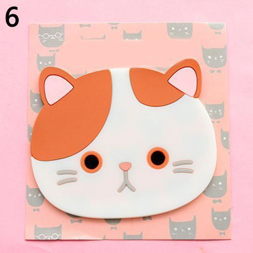 Emotional Cat Face Coasters – Pack of 6 Stunning Pets 6