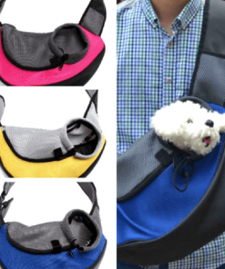 Ever wished to carry your dog hands free? Over the Shoulder Limited Edition Dog Carrier will let you do so. Stunning Pets