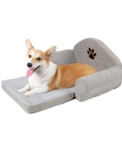 Fashionable Dog Soft Cushion Collapsible Bed Stunning Pets