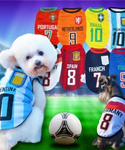 FIFA World Cup Russia 2018 EXCLUSIVE Doggo Tees Stunning Pets