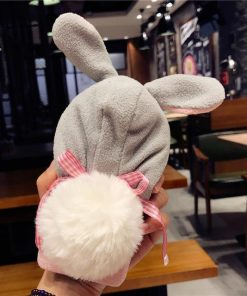 Fluffy Rabbit Hat Phone Case Stunning Pets Rabbit i6 6S