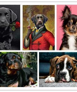 Funny Art Paintings Home accessories Stunning Pets