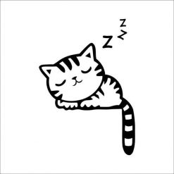 Funny Cute Cat/Dog Switch Stickers for Home Decoration Home accessories Stunning Pets 3119