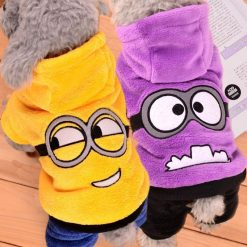 Funny Dog Clothes Warm Fleece Costume For Small Dogs Stunning Pets