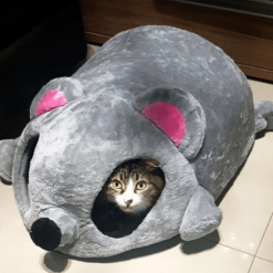 Funny Mouse Shaped Cat Bed Stunning Pets