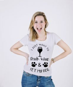 Funny Puppy Lover Partying T Shirt Stunning Pets Gray S