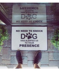 "Funny Welcome Mat""No Need To Knock""