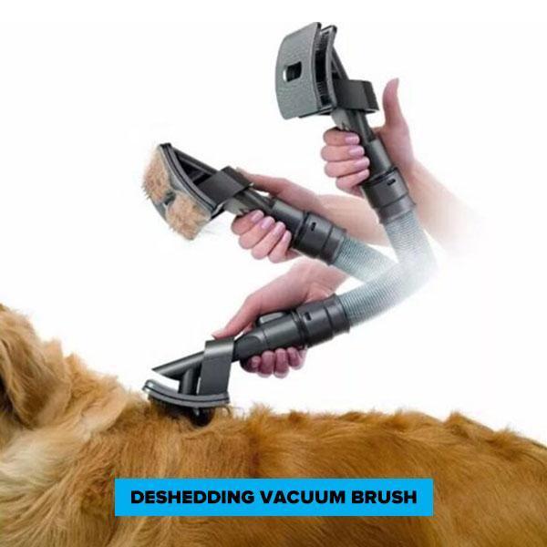 FURVAC™: Deshedding Dog Brush With Vacuum grooming Stunning Pets