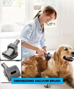 FURVAC™ Dog Vacuum Brush| Dog Shedding Brush grooming Stunning Pets
