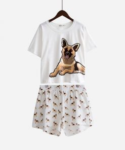 German Shepherd Cute Set Of Pajamas Dog Lovers ROI test GlamorousDogs