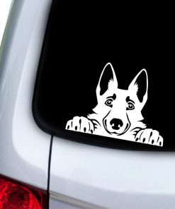 German Shepherd Dog Sticker Glamorous Dogs