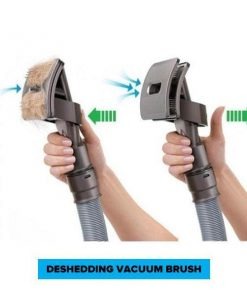 German Shepherd Grooming FURVAC™: Deshedding Dog Brush With Vacuum adapter grooming Stunning Pets