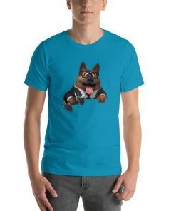German Shepherd Gym Lovers (Male) GlamorousDogs Aqua S