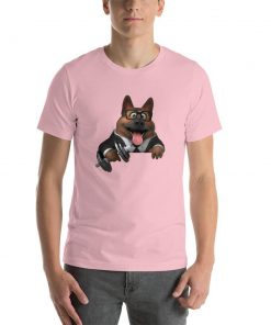 German Shepherd Gym Lovers (Male) GlamorousDogs Pink S