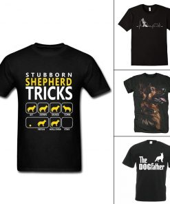 German Shepherd Lover T-shirt Collection | Rock Your Casual Outfits Dog Lovers ROI test Stunning Pets